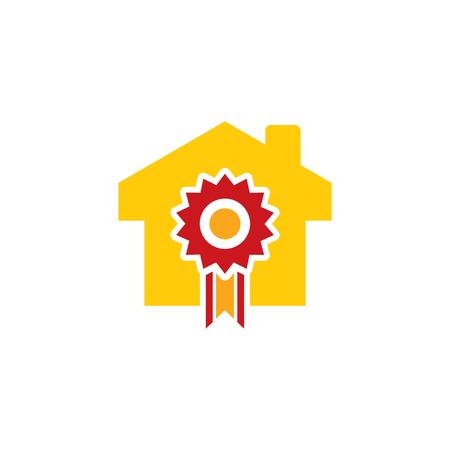 Best Home Logo Icon Design Illustration
