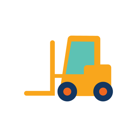 Forklift Logo Icon Design