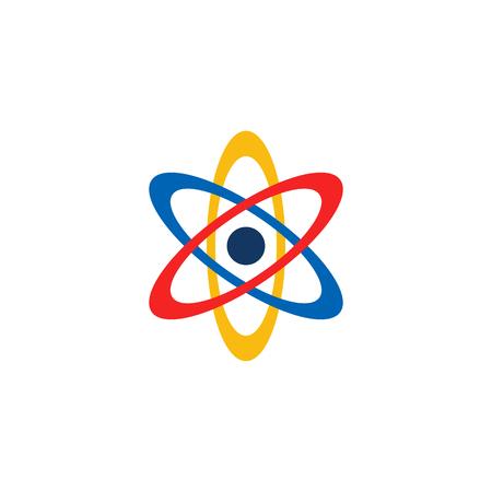 Conception d'icône Logo Atom Logo