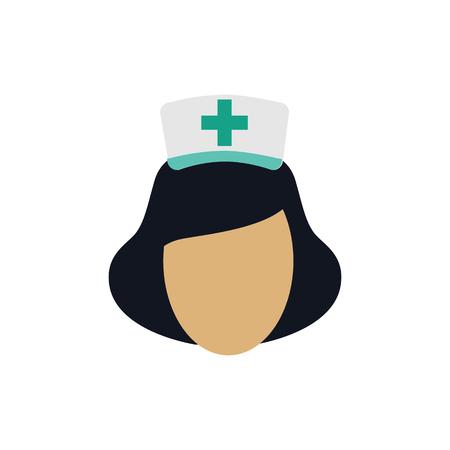 Krankenschwester Logo Icon Design