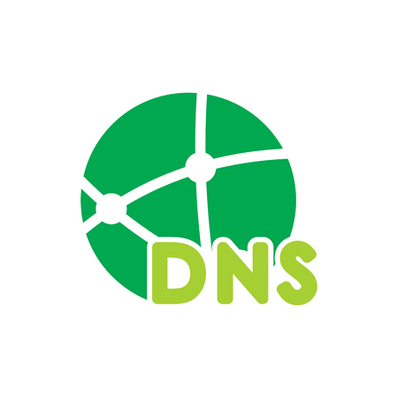 DNS Logo Icon Design
