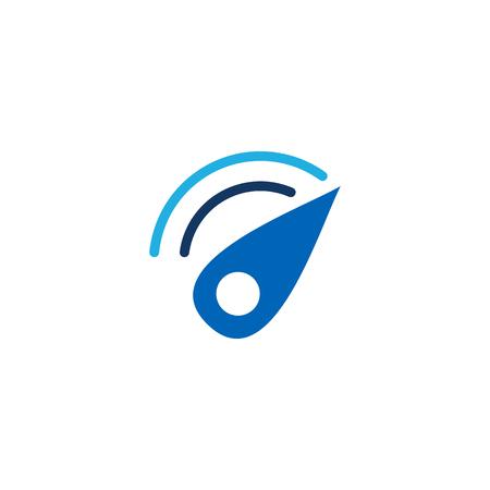 Speed Logo Icon Design