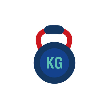 Kettle Bell Logo Icon Design