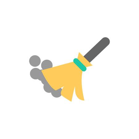 Broom Logo Icon Design Stock Illustratie