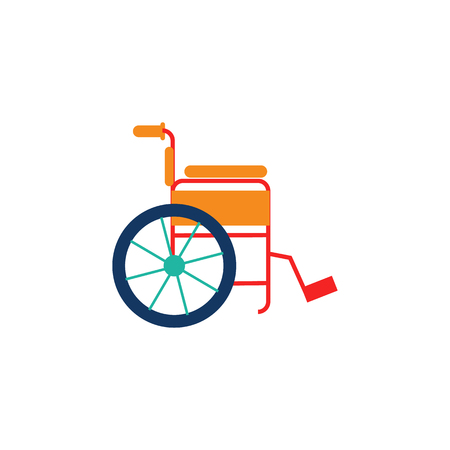 Wheelchair Logo Icon Design Banque d'images - 106705677
