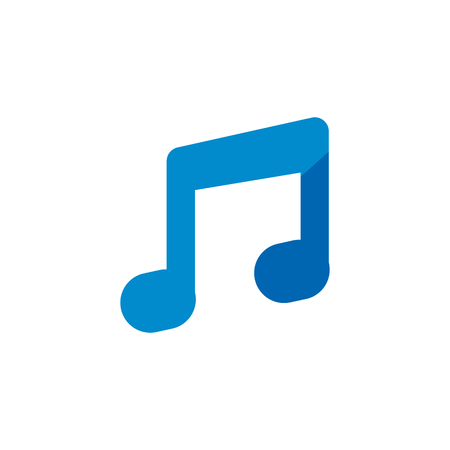 Music Logo Icon Design Ilustração