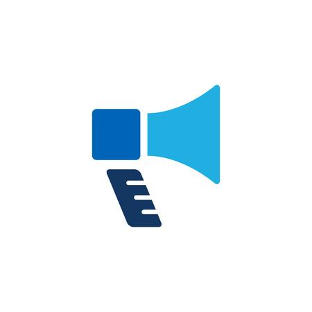 Loudspeaker Logo Icon Design