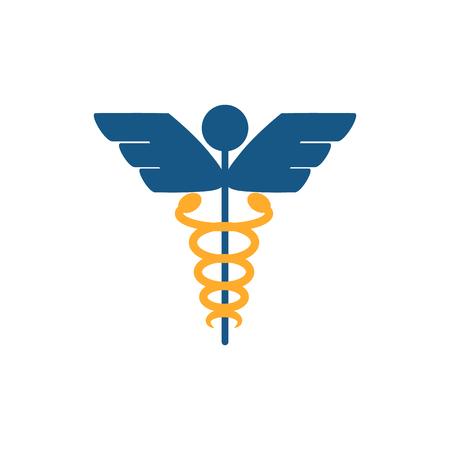 Pharmacy Logo Icon Design Illustration
