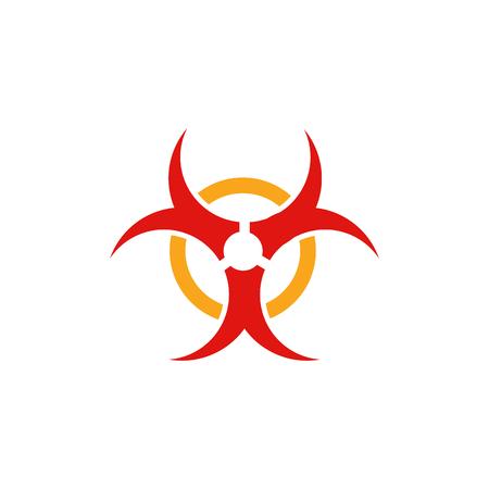 Hazard Logo Icon Design Foto de archivo - 106705689
