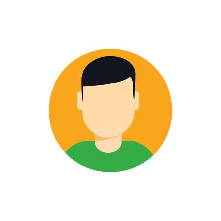 Man Logo Icon Design Illustration