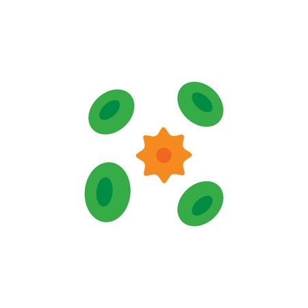 Bacteria Logo Icon Design