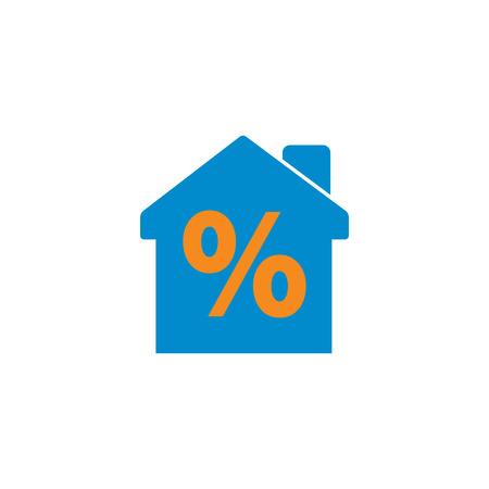 Discount Home Icon Design