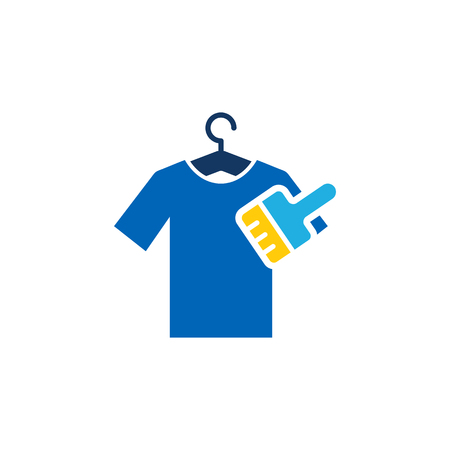 Brush Cloth  Icon Design