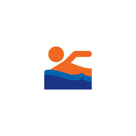 Swim Logo Icon Design