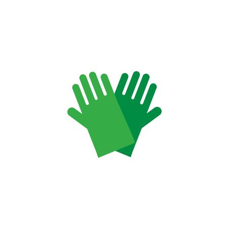 Glove Logo Icon Design