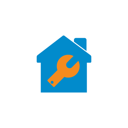 Repair Home Logo Icon Design