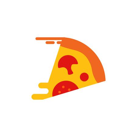 Pizza Delivery Logo Icon Design