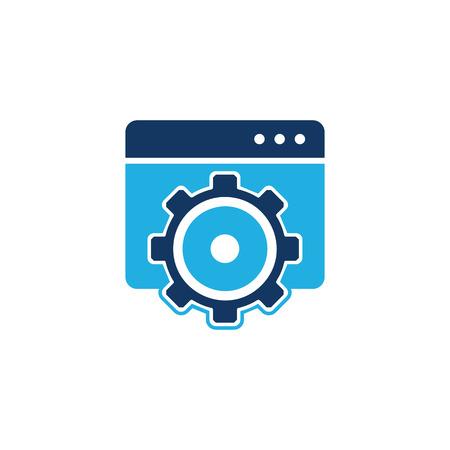 Folder Tool Logo Icon Design