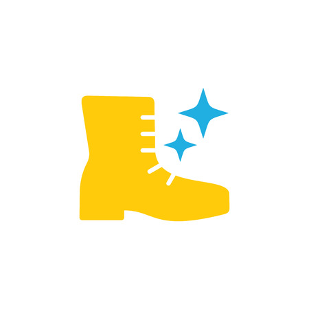 Shoes Logo Icon Design Ilustrace