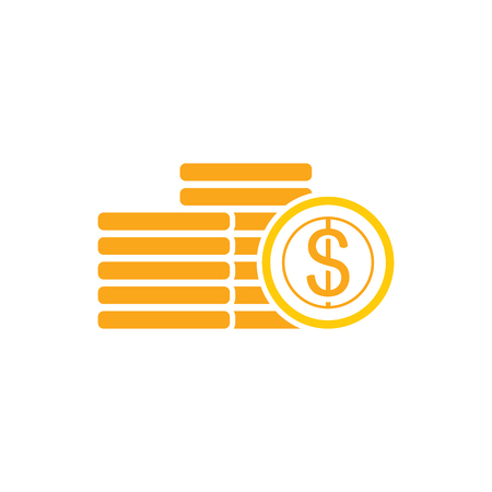 Coin Logo Icon Design 版權商用圖片 - 106097772