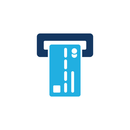 Insert card Logo Icon Design Reklamní fotografie - 106097775