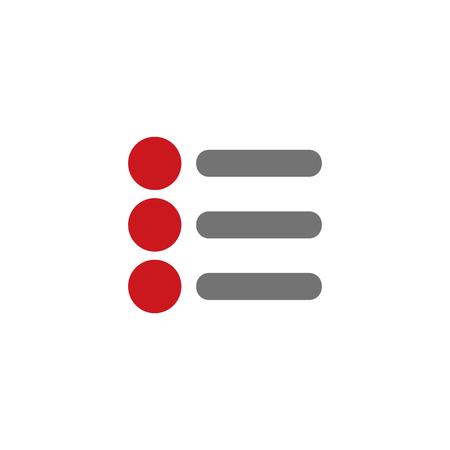 List System Icon Design
