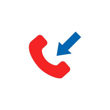 Incoming Phone Icon Design