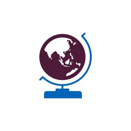 Globe Education  Icon Design