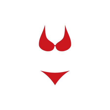 Underwear Summer Icon Design