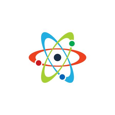 Conception d & # 39; icône de science atom