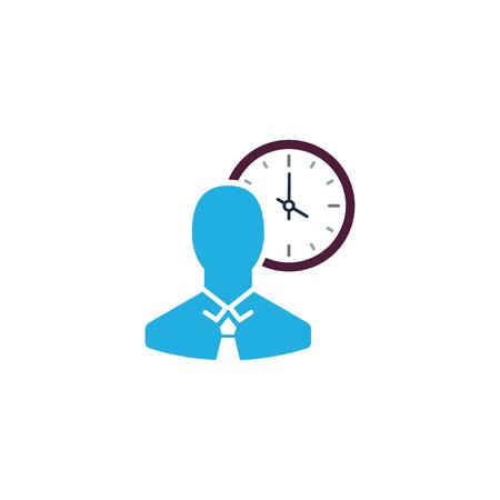 Time Business  Icon Design Ilustração
