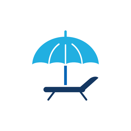 Sunbathe Travel  Icon Design