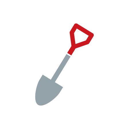 Spade Tool  Icon Design