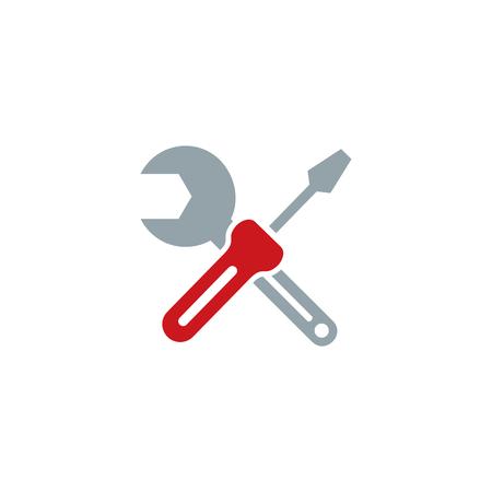 Screwdriver Tool  Icon Design Stock Illustratie