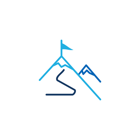 Mountain Business  Icon Design