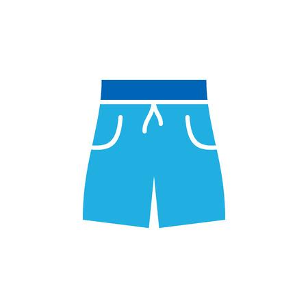 Pant Summer Icon Design