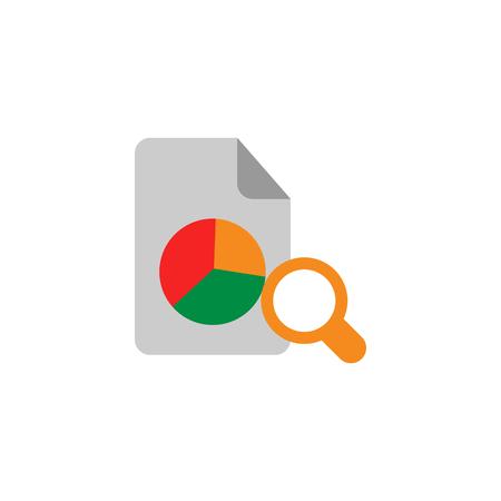 Search Statistic Icon Design