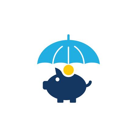 Coin Insurance Icon Design