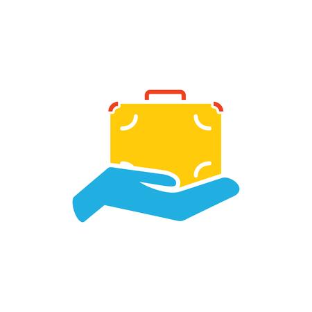 Job Insurance Icon Design