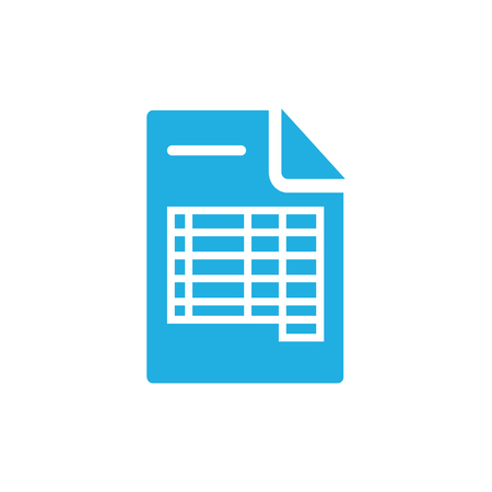 Document Icon Design Archivio Fotografico - 106538710