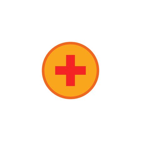 Add System Support  Icon Design Illustration