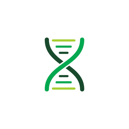 Dna Science  Icon Design Illustration