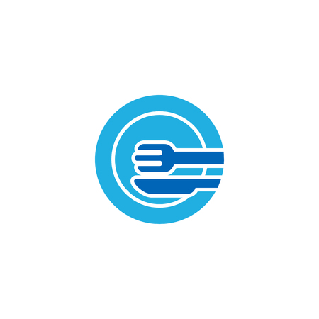 Food Hotel Logo Icon Design