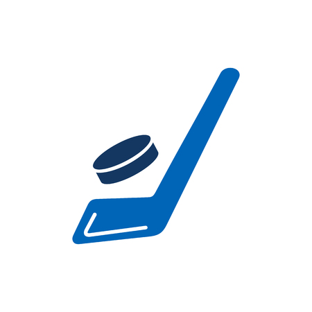 Hockey Sport Logo Icon Design