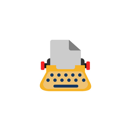 Typewriter Seo Logo Icon Design