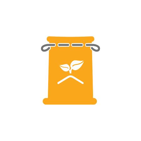 Seed Gardening Logo Icon Design Illustration