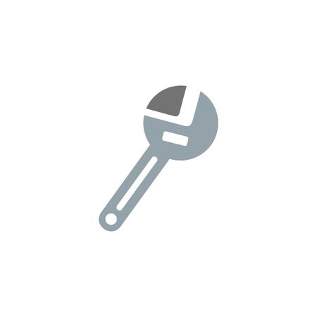 Wrench Tool Logo Icon Design