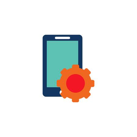 Gear Advertising Logo Icon Design