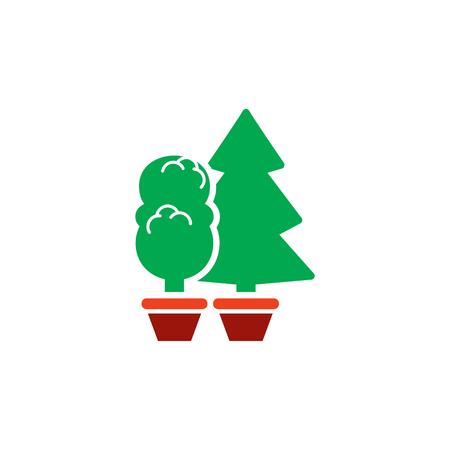 Plant Gardening Logo Icon Design
