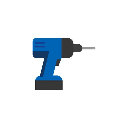 Drill Tool Logo Icon Design